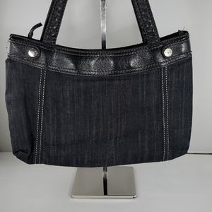 THIRTY ONE Black Denim Purse